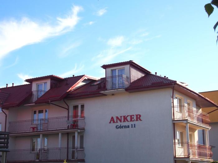 Pensjonat Anker pokoje