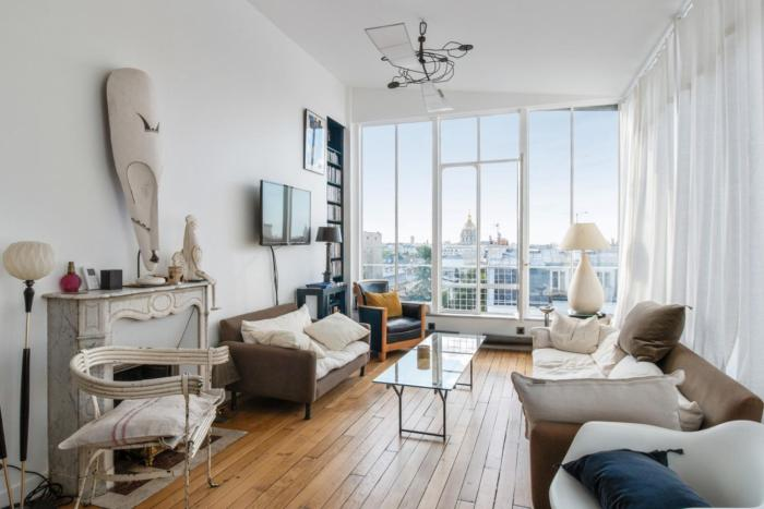 Artistic flat with an incredible view close to Eiffel Tower Welkeys