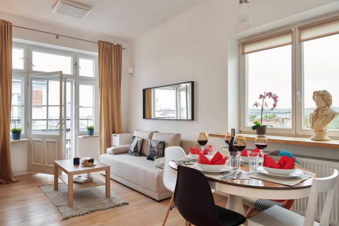 Apartments Górskiego Warsaw by Renters