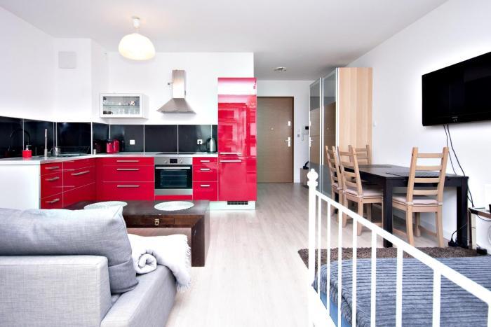 Apartament Aquarius Red Sopot ul Armii Krajowej 139B