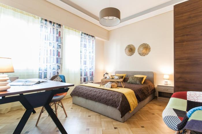 Comfortable and safe double rooms in Kallithea