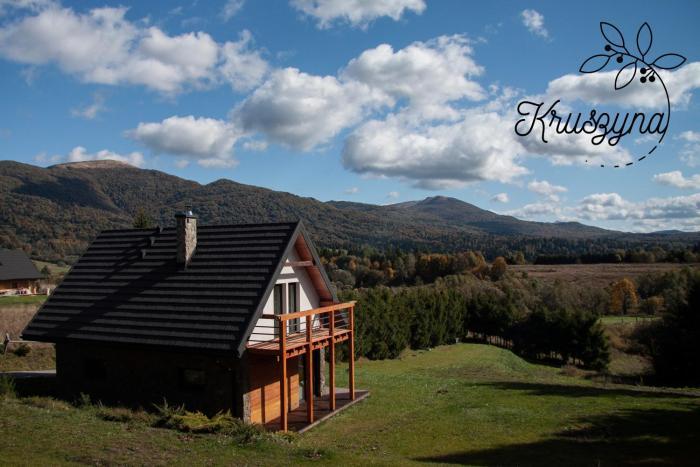 Kruszyna domek z widokiem na połoniny