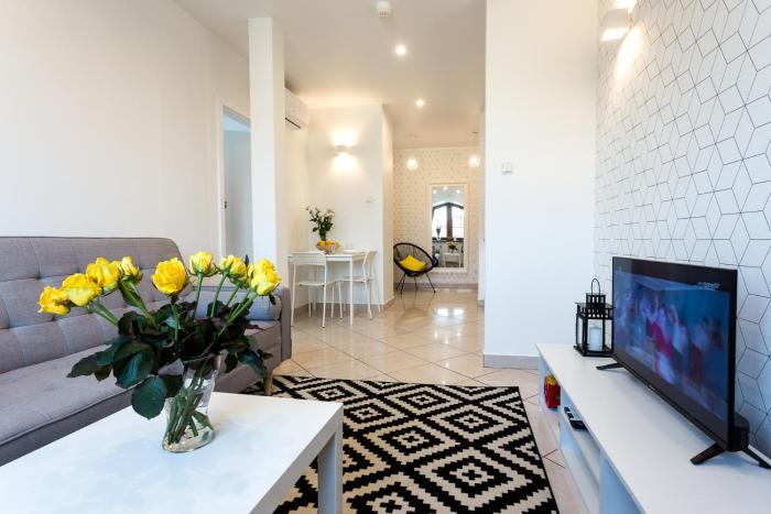 Apartament BIANCO NERO pod Jasną Górą bezpłatny parking teren ogrodzony