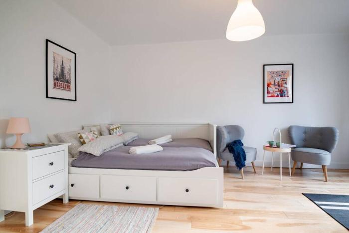 White Beds apartment for 7 people in the center