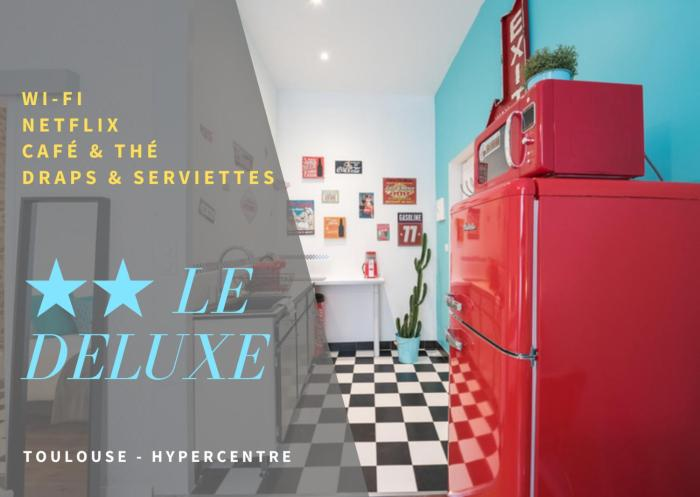 Le Deluxe Rue Riquet avec PARKING