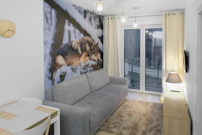 Apartament Szary Wilk