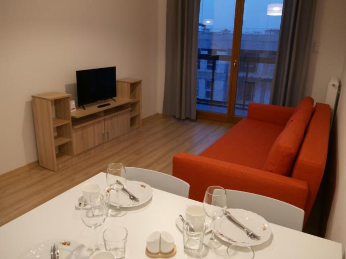 Apartament Amber Deluxe ul Grudziądzka 2 km od plaży Brzeźno