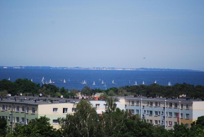 Apartament Morski z widokiem na Morze