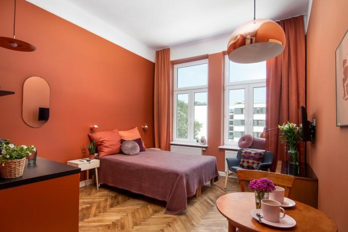 Colorful Apartments Zacisze Street