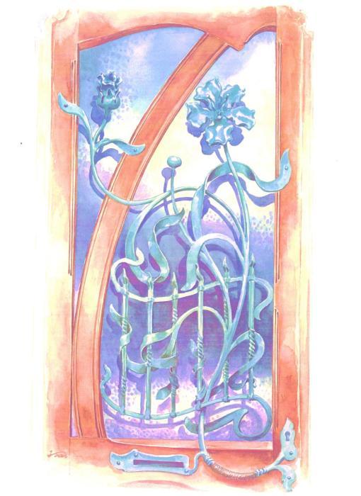 The Belle Vue Art Nouveau House