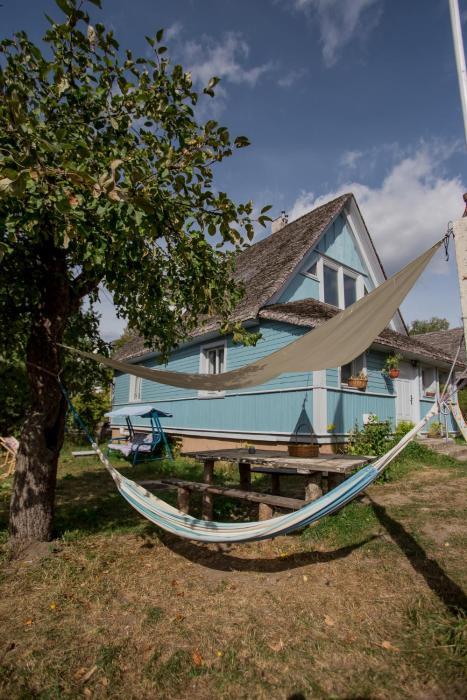 MorzeLas niebieski domek