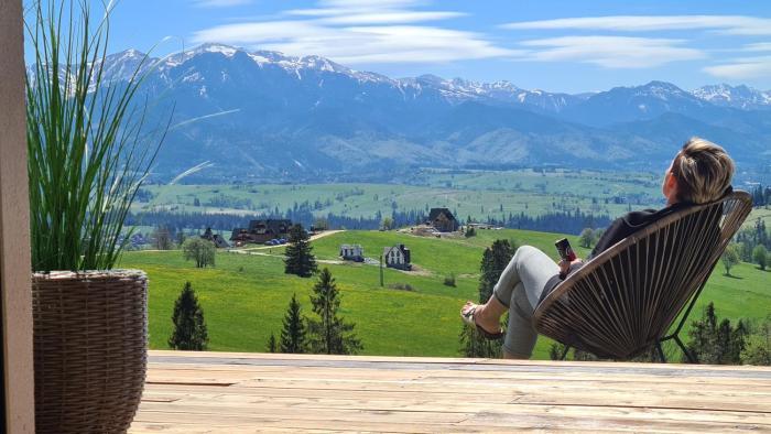 Domek z widokiem na Tatry