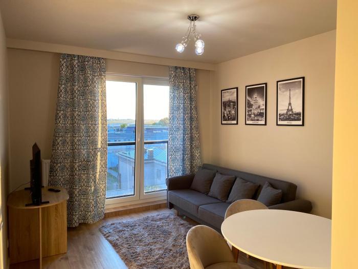Chopin AirPort Unique View Comfort Apartment Kłobucka