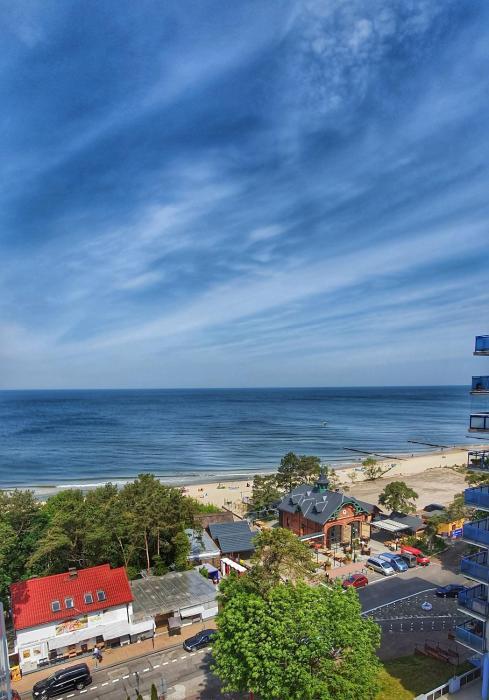 Holiday Home SLAVIA NEW 601 z widokiem na morze