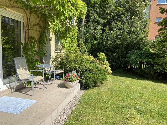 Atrium z prywatnym ogrodem Wrzeszcz