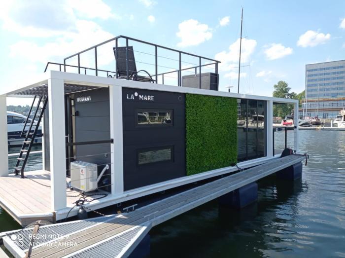 HouseboatDom na wodzie Modern 1 Gdynia