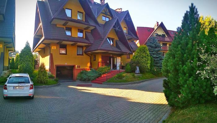 Apartament Góralski z Kominkiem Dwupoziomowy