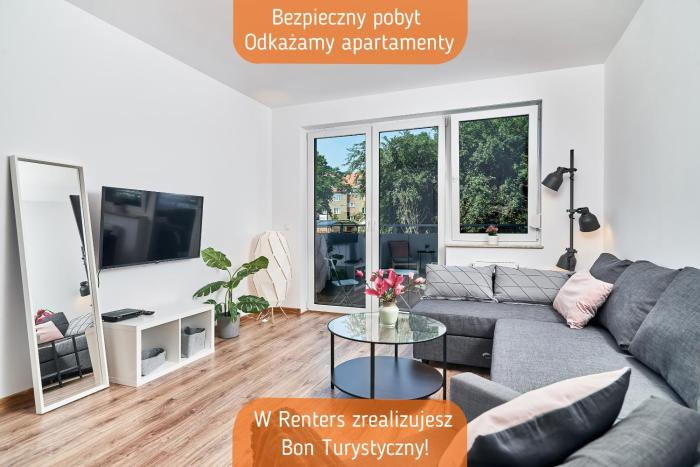 Modern Apartments Wrocław by Renters