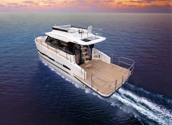 Jacht motorowy Futura 40 FLY Grand Horizon