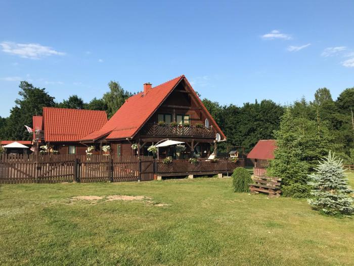 Agroturystyka FIFI Dom drewniany z 4 sypialniami