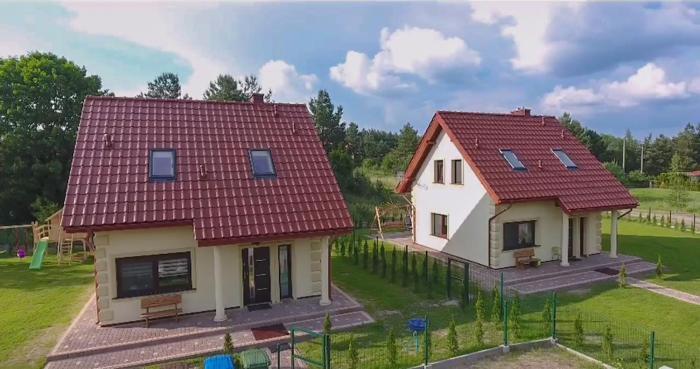 Luksusowe domy na Mazurach nad jeziorem 2