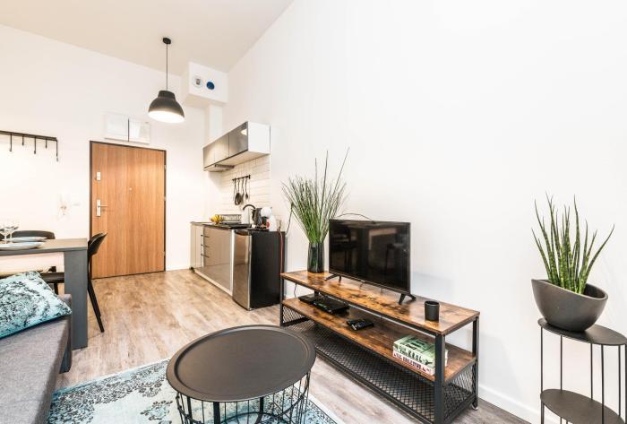 Apartament w Sercu Miasta Poznań Garbary 31