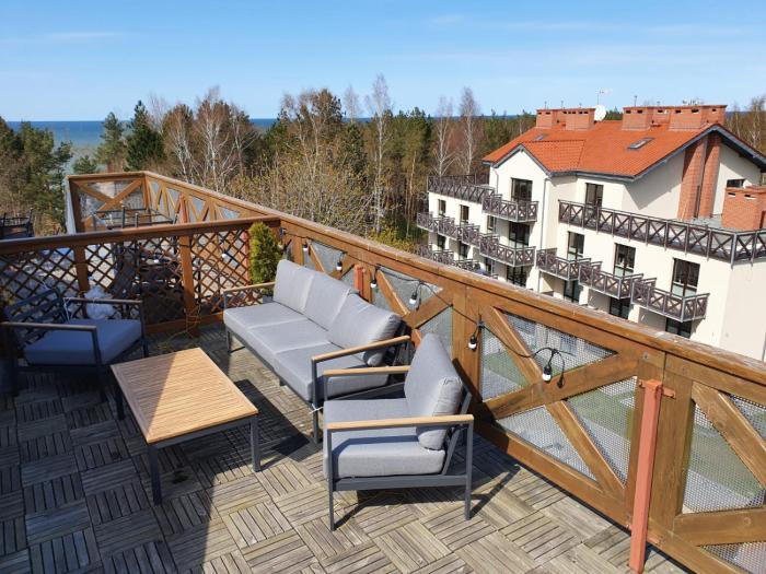 Apartament z tarasem na dachu LUNA