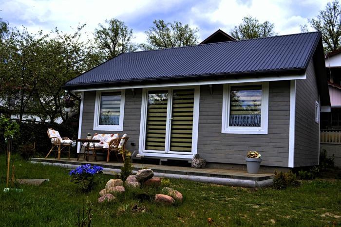 Domek nad jeziorem a morze w gratisie