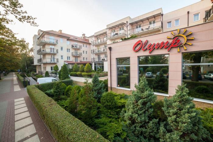 Olymp1 Apartament 100 m od morza dostęp do basenu w cenie