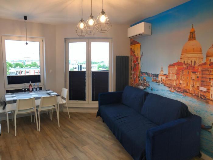 Klimatyzowany Apartament Wenecja z garażem podziemnym
