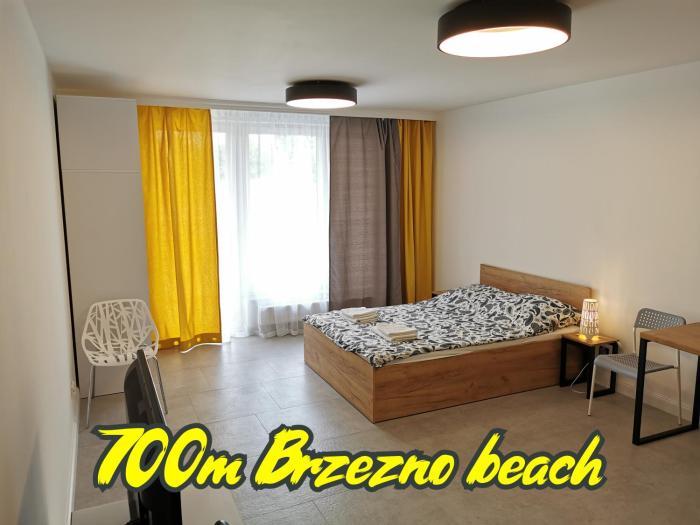 Przystań Letnica Apartamenty 700m plaża