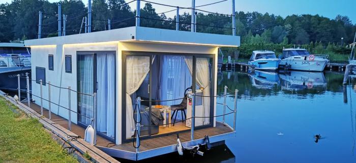 GOLTGO Laivų HouseBoat Hausboot nuoma Lenkijoje