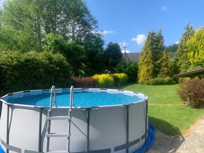 Apartament Bukowy z basenem i ogrodem