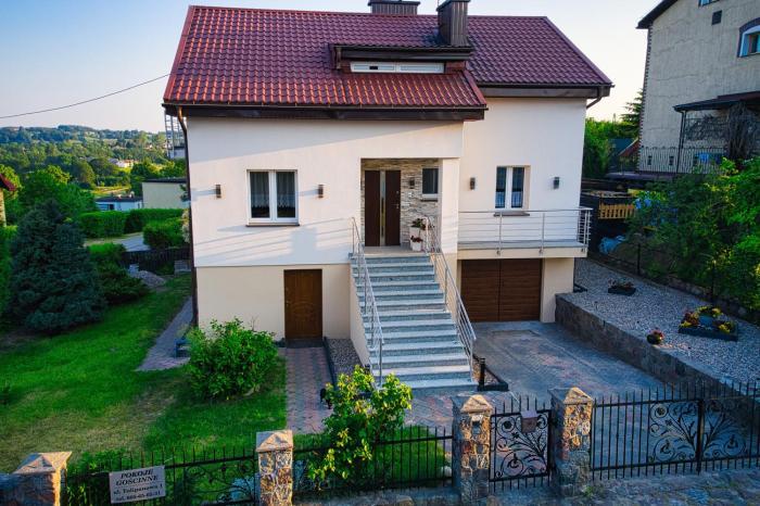 Dom wakacyjny Na Tulipanowej w Chmielnie