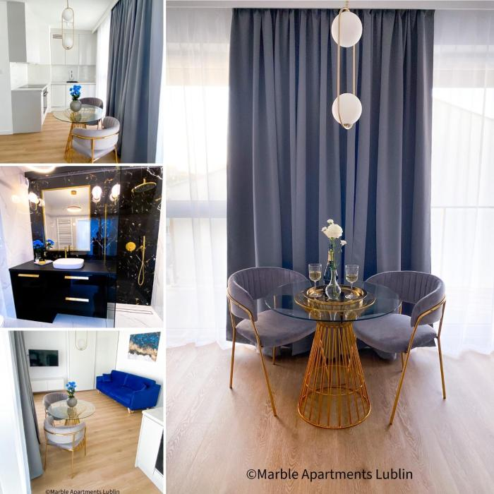 #stayinMarble Marble Apartments Lublin City Center Gray Apartment