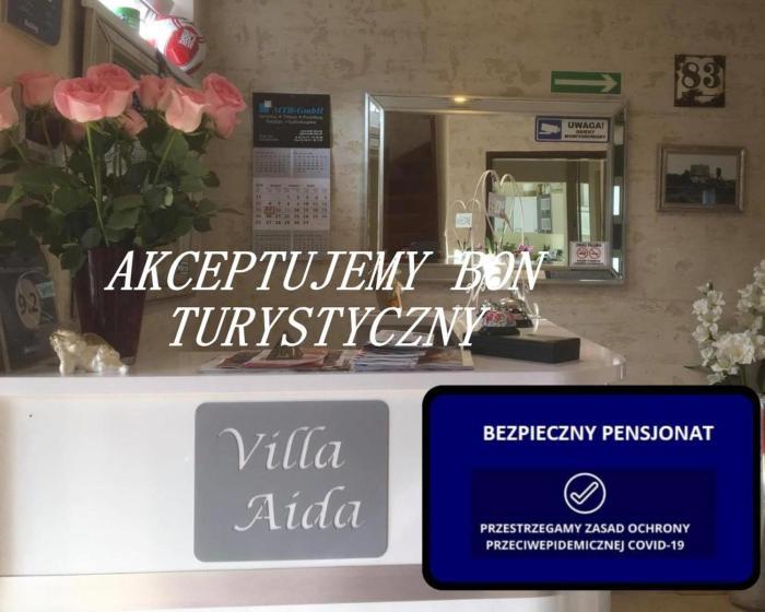 Villa Aida pokoje gościnne