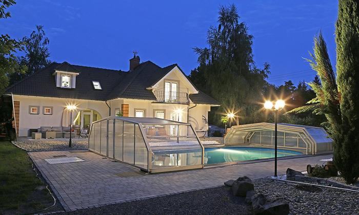 Luksusowa willa z basenem sauną i jacuzzi