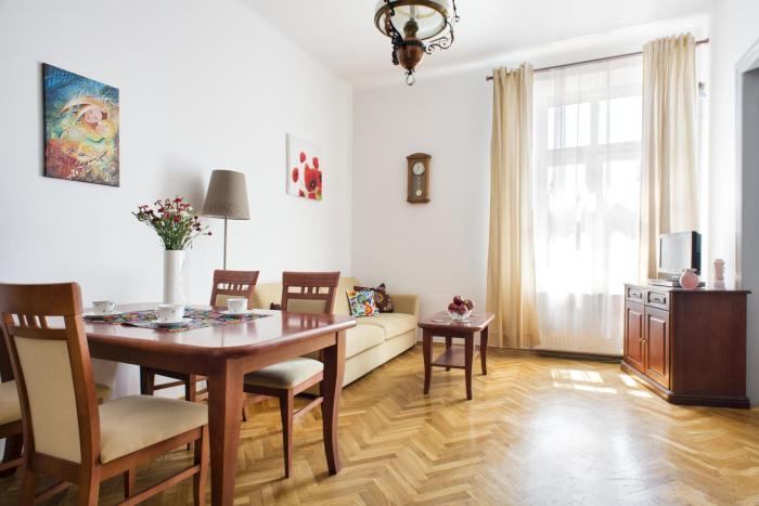 Folk Apartment on Kazimierz Krakow Meiselsa Str with City view