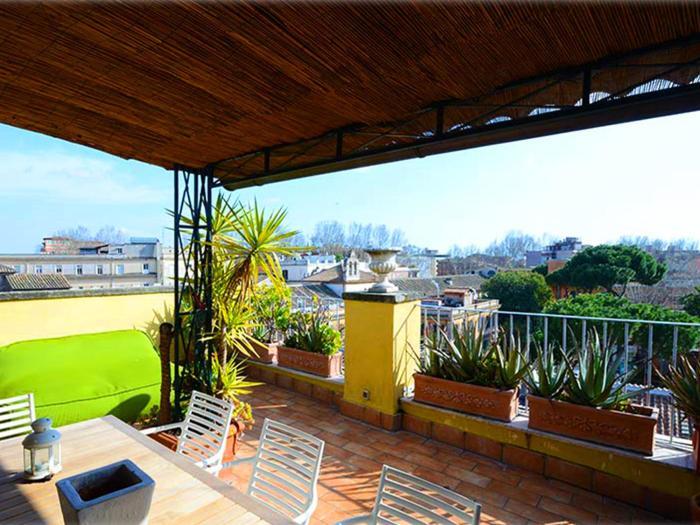 Trastevere Santa Rufina Terrace