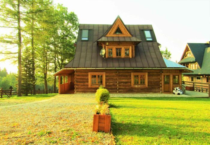Pompelówka chata na Głubałówce