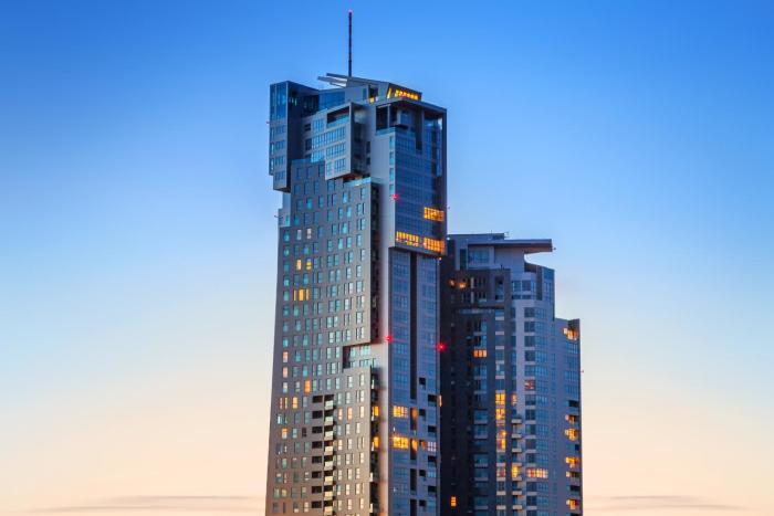 Orange Suite Sea Towers