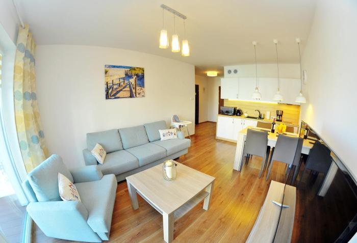 Apartament Solna 201 W centrum blisko morza