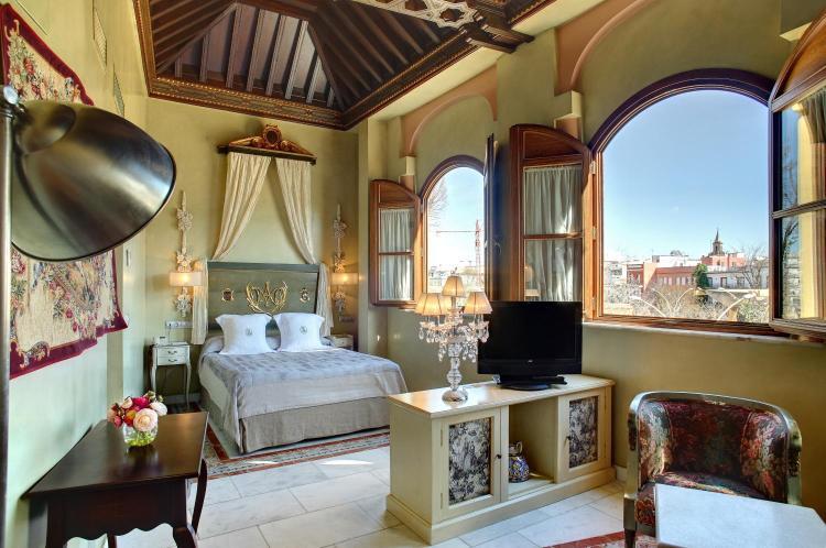 Hotel Sacristía de Santa Ana, Alameda de Hércules, 22, 41002 Seville, Spain.