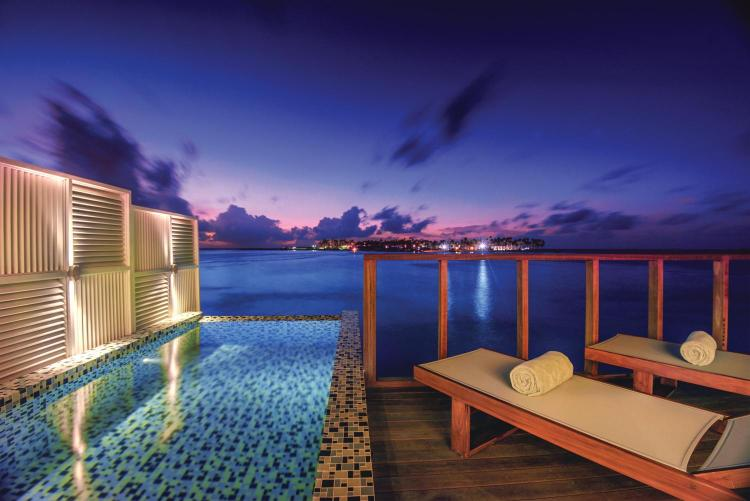 Sangeli Island, North Male Atoll, Maldives.