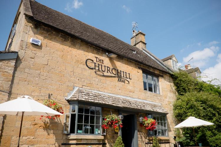 The Churchill Arms, Paxford, Chipping Campden, Gloucestershire, GL55 6XH, England.