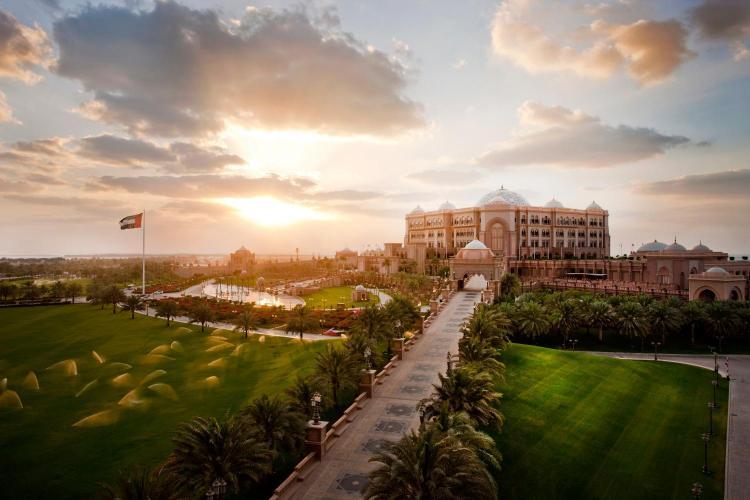 West Corniche, Abu Dhabi, UAE.