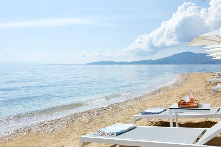 Agios Ioannis Peristeron, Corfu, Greece.