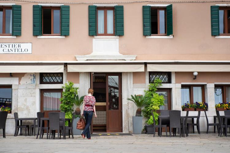 Castello 2135A, riva San Biasio, Venice, Italy.