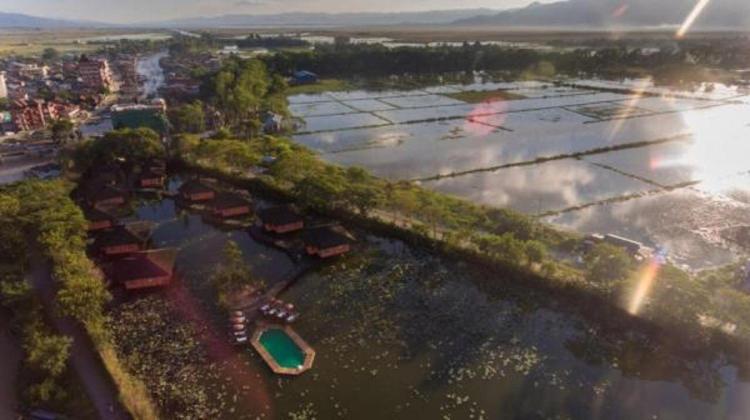 Taik Nan Bridge & Nyaung Shwe Canal, 11101 Nyaung Shwe, Myanmar.