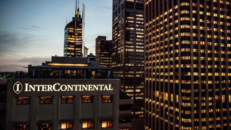 Corner of Phillip and Bridge Streets, Sydney, 2000, Australia.